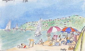 Safety Beach scene