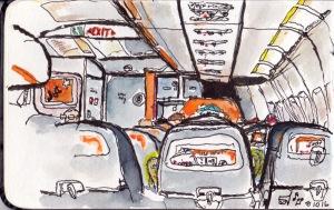 aeroplane cabin 1