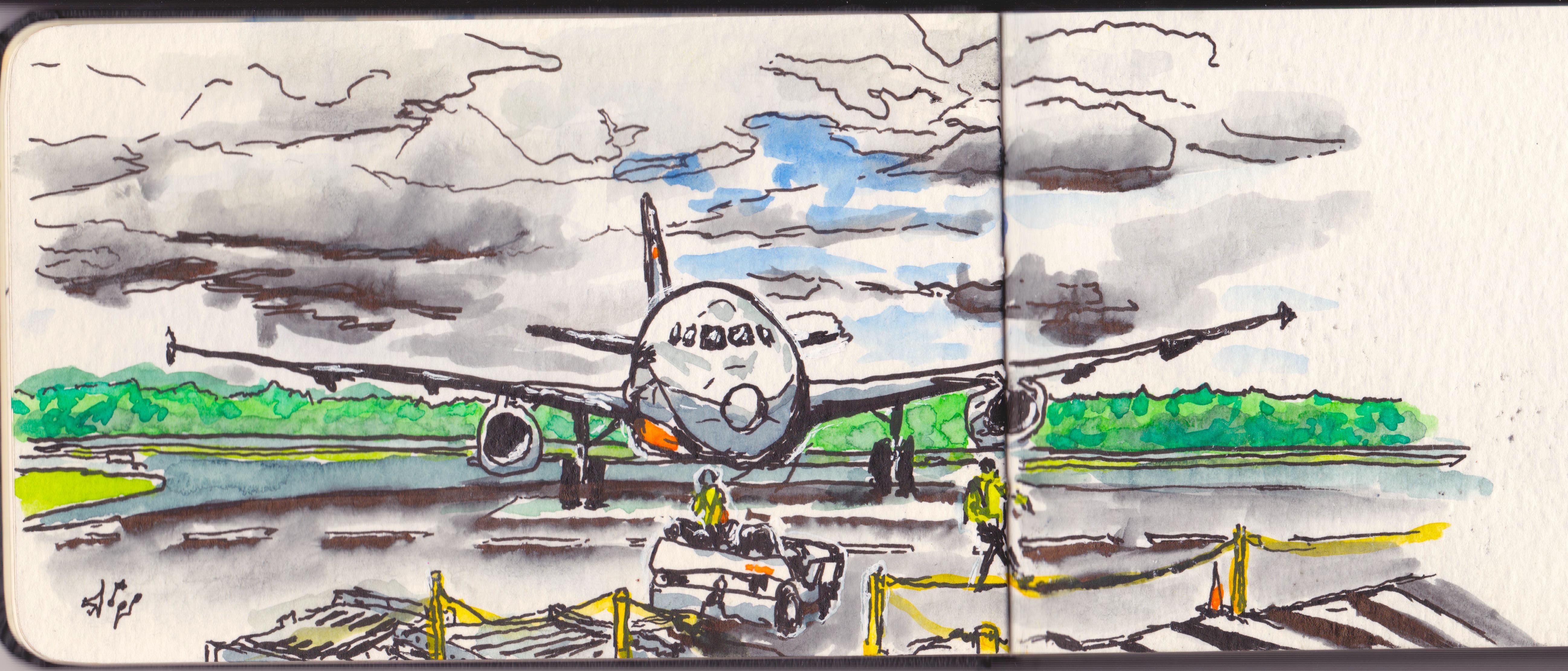 aeroplane in hobart 2
