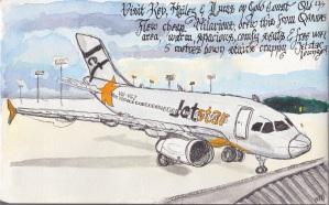 flight plane to GC